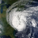 Satellite picture of Hurricane Isabel