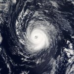 Satellite picture of Hurricane Kate