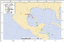 Hurricane Alex Track