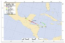 Hurricane Richard Track