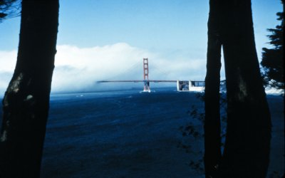 Fog - Golden  Gate Bridge, CA courtesy of NOAA