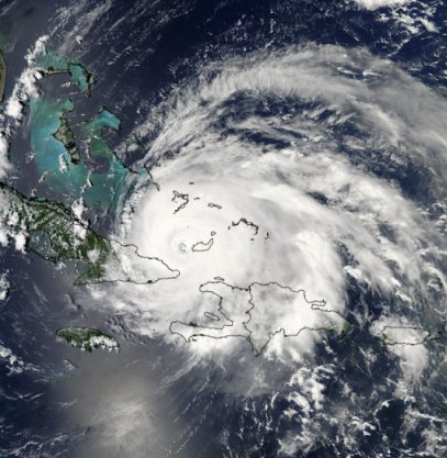 Hurricane Ike satellite picture