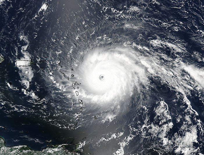 Hurricane Irma satellite picture