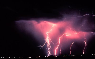 Lightning - Norman, OK - Picture courtesy of NOAA