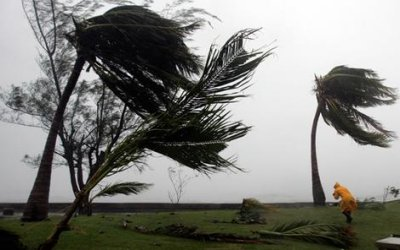 Windy weather, Kingston, Jamaica - Picture courtesy Smh.com.au